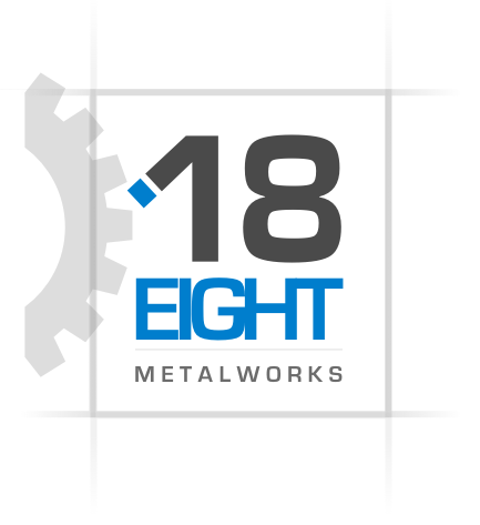 18 Eight Metalworks Logo Design