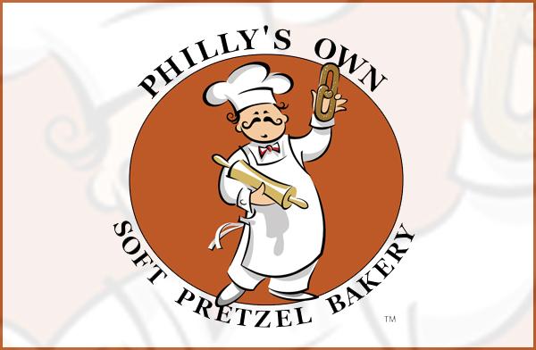 Philly's Own Soft Pretzel Branding